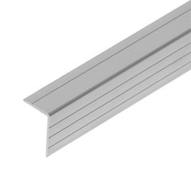 Case angle 30x20mm R1, grooved, 1.5mm thick