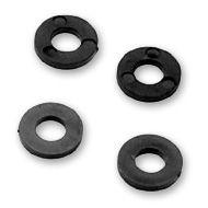 Kunststoff Unterlegscheibe für M6, schwarz