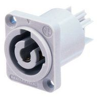 Neutrik Powercon Socket, Power-out (gray)