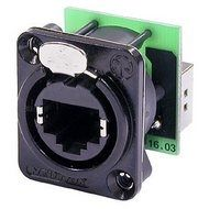 Neutrik RJ45 Socket, black