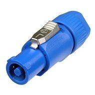 Powercon kabeldeel blauw