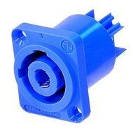 Powercon chassisdeel blauw