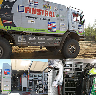 Team Finstral - Gesponsord door Casebuilder
